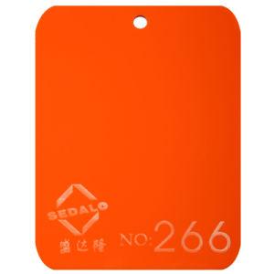 Orange Cast Acrylic Sheet (SDL-266) pictures & photos
