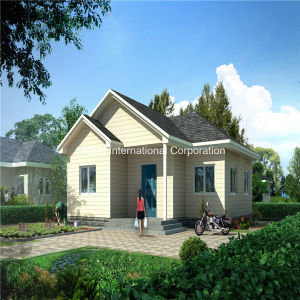 Economical and Energy Saving Prefabricated Light Steel House pictures & photos