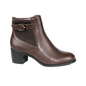 Fashion PU Shoes for Elegent Women and Ladies pictures & photos