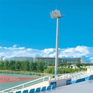 Professional Manufacturer of 15m High Mast Lighting for Football Pitch with Full Set Production Line pictures & photos