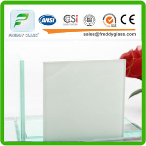10.38 Milk Laminated Glass/ Decorative Glass/ Clear Glass pictures & photos