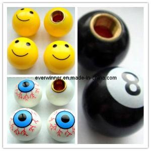 Car Truck Bike Tire/Wheel Air Valve Stem Caps Eye Ball 8 Ball Smile Face Ball pictures & photos