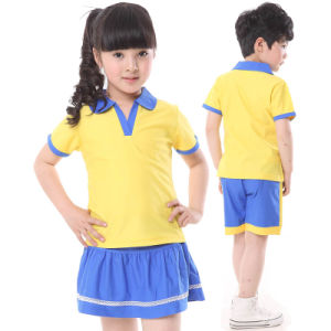 2016 Customs Wholesale Kids School Uniforms in Summer Style pictures & photos