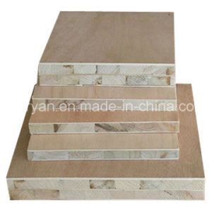 Wholesale Plain Plywood Melamine Blockboard pictures & photos