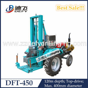 40-12m Tractor Mounted Drilling Rig for Water pictures & photos