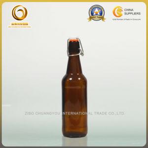Swing Top 500ml Amber Beer Bottle (013) pictures & photos