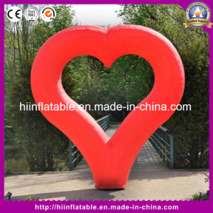 LED Inflatable Heart Love Tube Valentine′s Day Wedding Decoration
