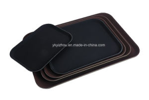 Restaurant Fiberglass Anti Skid Serving Tray pictures & photos