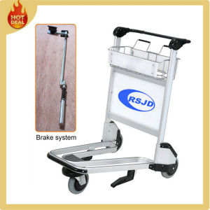 Aluminum Alloy Passenger Baggage Airport Cart (LG5) pictures & photos