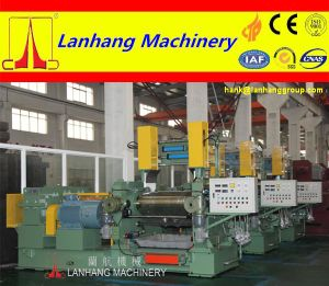 Hydraulic Stock Guide System Two Roll Open Mixing Mill pictures & photos