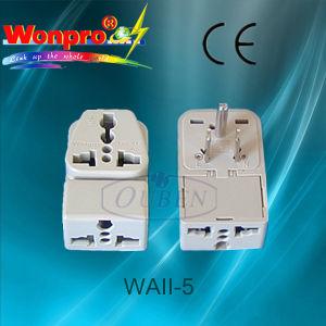 Universal Travel Adaptor WaII-5 (socket, plug) pictures & photos