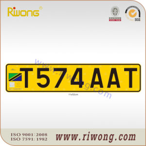 Tanzania Mc Vehicle License Plate pictures & photos