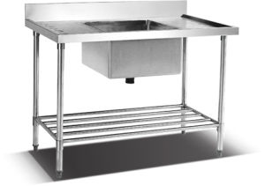 Stainless Steel Work Dish Table (HSS-612) pictures & photos