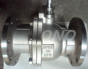 Stainless Steel Manual Ball Valve with RF Flange pictures & photos