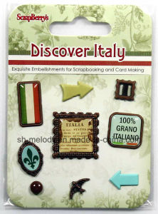 Exquisite Metal Embellishments for Scrapbooking and DIY Project pictures & photos