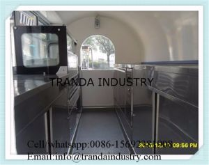 on Street Running Big Sales Window Mobile Buffet Car pictures & photos