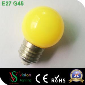 Colour Mini Bulb 360 Degree PC Cover E27 0.5W 1W LED Bulb pictures & photos
