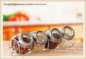 Storage Food Glass Mason Jar with Metal Lid From 50ml to 4000ml pictures & photos
