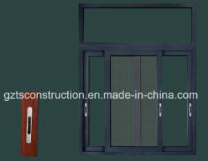 Aluminum Alloy Sliding Door Window with Thermal Break Profile Double Glazed pictures & photos