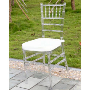 Crystal Resin Chiavari Chair with Cushion pictures & photos