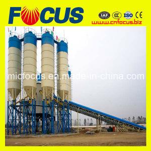Hzs120 120m3/H, 120cum, 120cbm/H Ready Mixed Concrete Mixing Plant with Belt Conveyor pictures & photos