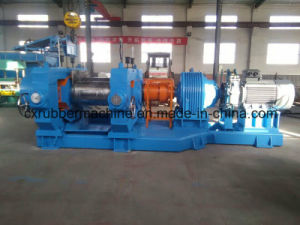 XKJ-450 Reclaimed Rubber Refiner/Two Roll Open Mixing Mill/Rubber Refining Mill pictures & photos