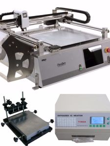 SMT Assembly Production Line, Printer+ Neoden3V+T962A pictures & photos