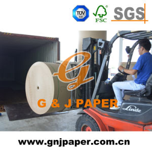 Wood Pulp Brwon Craft Liner Paper Board Usde for Box pictures & photos