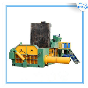 Metal Recycle Automatic Aluminum Can Baler pictures & photos