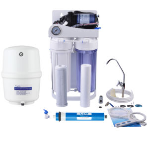 Puricom OEM Supplier Home Water Purifier with Frame and Pressure Gauge Nw-RO50-G pictures & photos