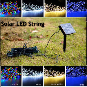 Outdoor Decoration Solar String Light with Different Colors pictures & photos
