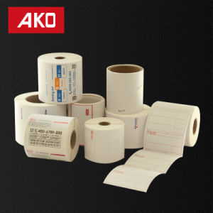Custom OEM Coated Art Paper Rolls Pet/BOPP Liner Self Adhesive Stikcer pictures & photos