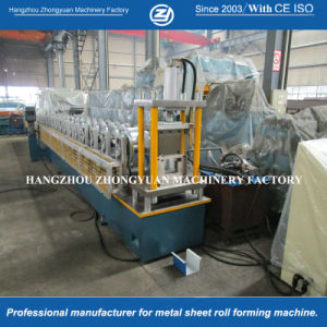 Reliable and Good Steel Roof Gutters Roll Forming Machine pictures & photos