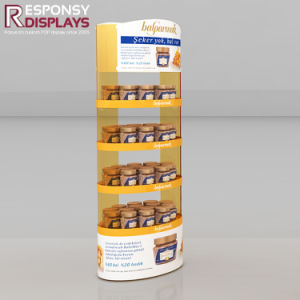 Floor Metal One-Sided Presentations Chocolate Cream Display Shelves pictures & photos