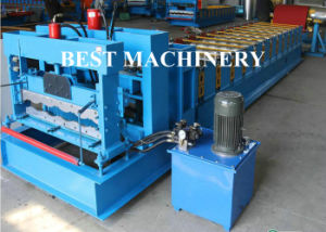 Auto Cutting&Pressing (Glazed/Steel/Roof Tile) Roll Forming Machine pictures & photos