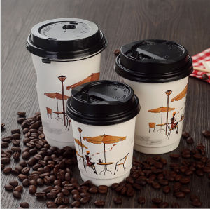 Custom Size Brown Coffee Cup Carrier/Holder Wholesale pictures & photos