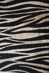 Zebra Style Chenille Sofa Decoration Fabric pictures & photos