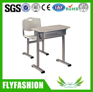 Popular Classroom Furniture Adjustable Height Student Desk (SF-04S) pictures & photos