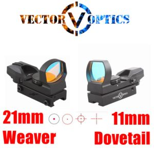 Vector Optics Imp 1X23X34 Multi Reticle Reflex Red DOT Sight Scope pictures & photos
