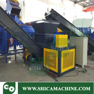 Discount Price Two Shaft Shredder Machine pictures & photos