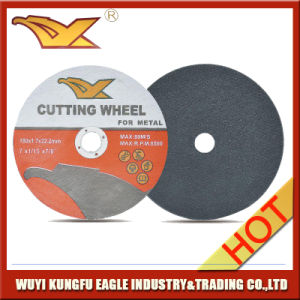 T41 Abrasive Super Thin Cutting Disc for Steel with Single Net pictures & photos