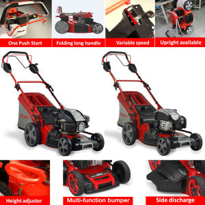 """18"""" High Quality Professional 4 in 1 Self-Propelled Lawn Mower pictures & photos"""