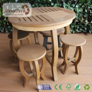 Modern Designs PS Wood Table and Chairs Full Sets Garden Furniture pictures & photos