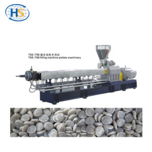 PE+80% CaCO3 Tse-75b Twin Screw Extruder for Filling Nature-Changing pictures & photos