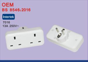 BS8546 13A 250V Universal EU to UK Travel Power Plug Adapter pictures & photos