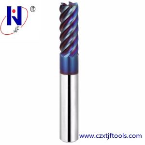 CNC Tungsten Carbide 4 Flute Tialn Coated Milling Cutter pictures & photos