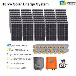 6000 Watts off Grid Home Electricity Energy Solar Power System pictures & photos