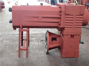 Szl Series Gear Unit for Cone Double Screw Extruder pictures & photos