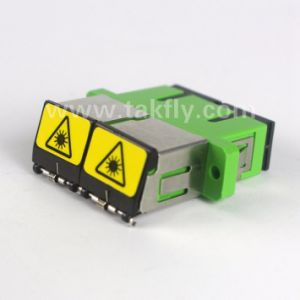 Singlemode Sc/APC Shutter Fiber Optical Adapter pictures & photos