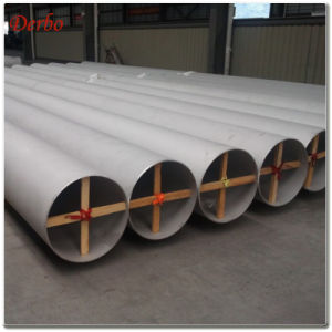Dn350xsch60 En 10217-7 316L Longitudinal Welded Ss Tube pictures & photos